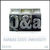 Kansas State University Q & A [Download]