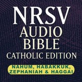 NRSV Catholic Edition Audio Bible: Nahum, Habakkuk, Zephaniah & Haggai (Voice Only) [Download]