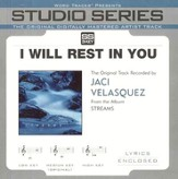 I WIll Rest In You - Medium key performance track w/ background vocals [Original Key] [Music Download]