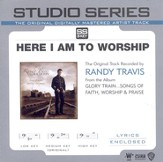 Here I Am To Worship - Medium key performance track w/o background vocals [Music Download]