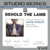 Behold The Lamb - Original key performance track w/ background vocals [Music Download]