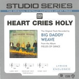 Heart Cries Holy - Low key performance track w/o background vocals [Music Download]