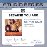 Because You Are - Original Key w/ Background Vocals [Music Download]