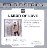 Labor Of Love - Original Key Performance Track w/Background Vocals [Music Download]