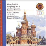 Shostakovich: Symphony No. 5; Cello Concerto [Music Download]