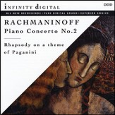 Rachmaninoff: Concerto No.2 for Piano and Orchestra in C minor, Op.18; Rhapsody on a theme of Paganini, Op.43 [Music Download]
