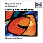 Beethoven: String Quartets Vol.1 [Music Download]