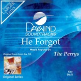 He Forgot [Music Download]