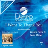 I Want To Thank You [Music Download]