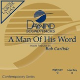 Man Of His Word [Music Download]