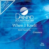 When I Knelt [Music Download]