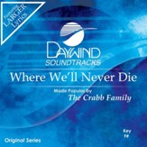 Where We'll Never Die [Music Download]