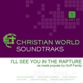 I'Ll See You In The Rapture [Music Download]
