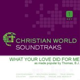 What Your Love Did For Me [Music Download]