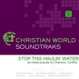 Stop This Haulin' Water [Music Download]