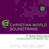 It Was Enough [Music Download]