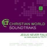 Jesus Never Fails [Music Download]