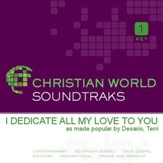 I Dedicate All My Love To You [Music Download]