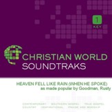 Heaven Fell Like Rain (When He Spoke) [Music Download]