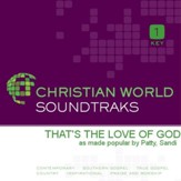 That's the Love of God [Music Download]