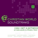 Can I Get A Witness [Music Download]
