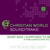 What Was I Supposed To Be [Music Download]
