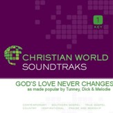 God'S Love Never Changes [Music Download]