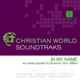 In My Name [Music Download]