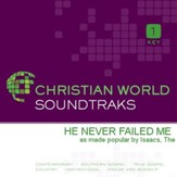 He Never Failed Me [Music Download]