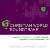 No One'S Ever Died For Me Before [Music Download]