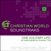 One Solitary Life [Music Download]