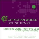 Nothing More, Nothing Less [Music Download]