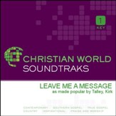 Leave Me A Message [Music Download]