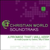 A Promise That I Will Keep [Music Download]