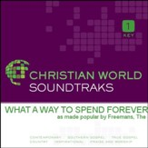What A Way To Spend Forever [Music Download]