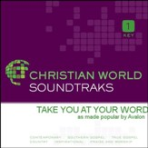 Take You At Your Word [Music Download]