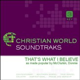 That'S What I Believe [Music Download]