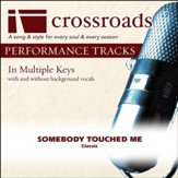 Somebody Touched Me (Made Popular By The Cathedrals) (Performance Track) [Music Download]