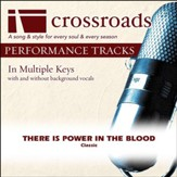 There Is Power In The Blood (Performance Track) [Music Download]