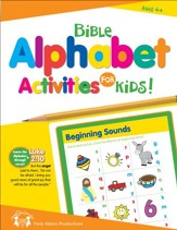 Bible Alphabet Activities for Kids Christian Puzzle PDF & Digital Album Download [Music Download]