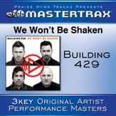 We Won't Be Shaken [Performance Tracks] [Music Download]