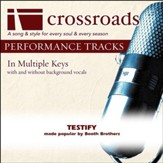 Testify (Made Popular By Booth Brothers) [Performance Track] [Music Download]
