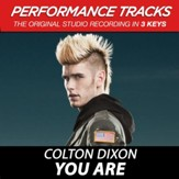 You Are, Medium Key Performance Track With Background Vocals [Music Download]