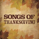 Songs Of Thanksgiving [Music Download]