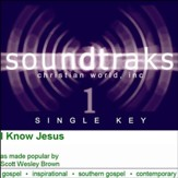 I Know Jesus [Music Download]