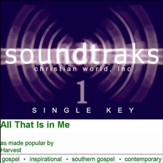 All That Is In Me [Music Download]