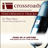 Song Of A Lifetime (Made Popular by Cross, Crabb and Bishop) [Performance Track] [Music Download]