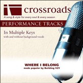 Performance Track Original with Background Vocals in B [Music Download]