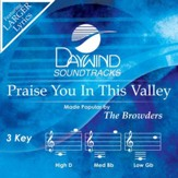 Praise You In This Valley [Music Download]