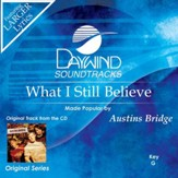 What I Still Believe [Music Download]